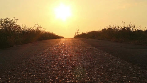 On the road Stock Video Footage
