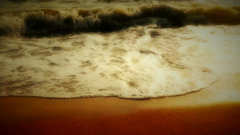 Wave Water Elements Stock Video Footage