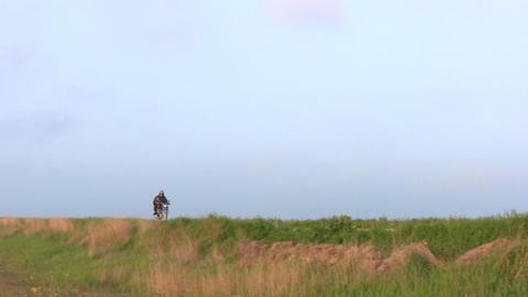 Rural riders Stock Video Footage