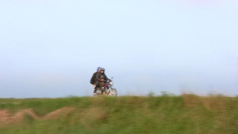 Rural riders Stock Video Footage