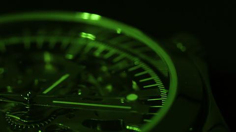 Green chronometer Footage