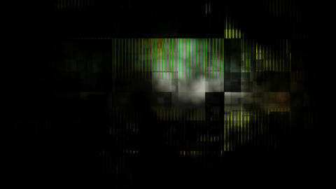 damage spotlights grunge Stock Video Footage