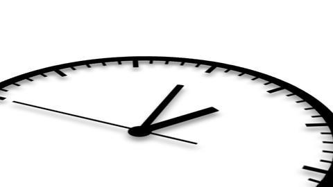 Clock, luma matte, HD Stock Video Footage