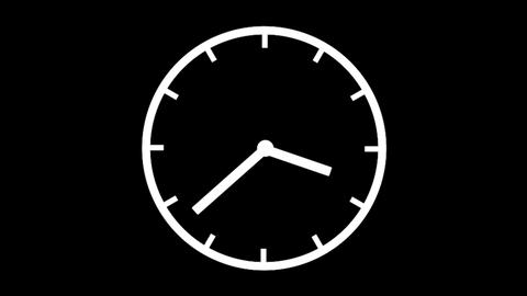 Clock Time Lapse, HD Stock Video Footage