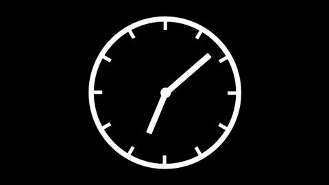 Clock Time Lapse, HD Animación