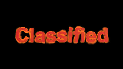 flame classified word,fire text Stock Video Footage