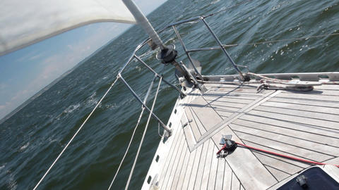 Staysail Stock Video Footage