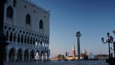 Some attractions of Venice city in Italy,San Marco Square Footage