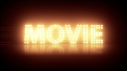 Movie Title stock footage