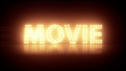 Movie Title Stock Video Footage