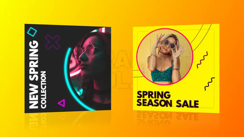 Instagram Posts Vol 01 After Effects Template
