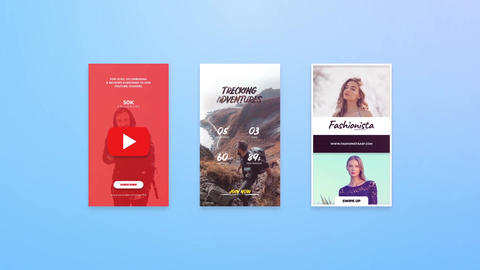 Instagram Stories Pack 03 After Effects Template