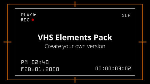 VHS Elements Pack