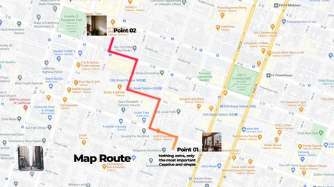 Map Route Animations After Effects Template