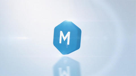 Simple 3D Rotation Logo After Effects Template