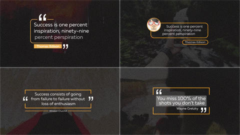 20 Quotes Titles After Effects Template