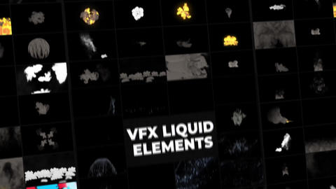 VFX Liquid Pack After Effects Template