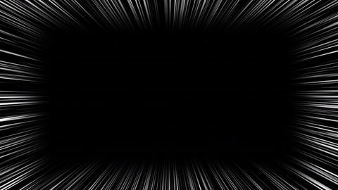 Anime motion background. 4K Animation Loop Anime Comic Speed Lines Animation