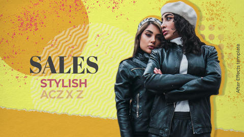 Stylish Promo After Effects Template