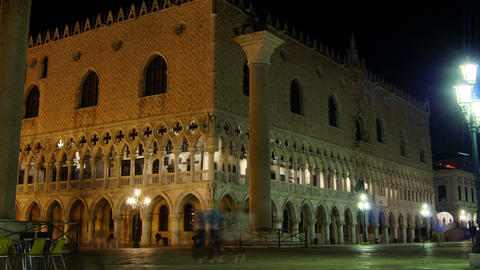 Some attractions of Venice city in Italy,Doge's Palace Footage