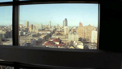 Elevator panorama Stock Video Footage