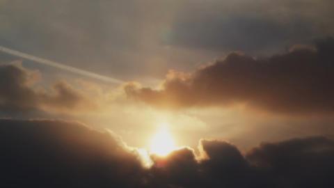 Sunset dusk time lapse Footage