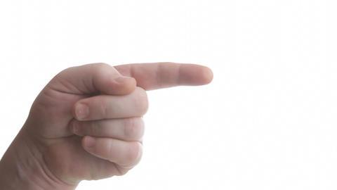 Gesture Stock Video Footage