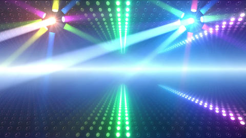 LED Wall 2 W Db Y 1m HD Stock Video Footage