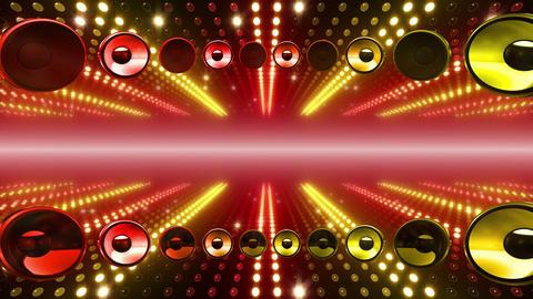 LED Wall 2 W Db Y 3m HD Stock Video Footage