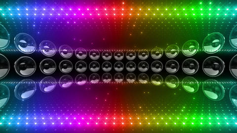 LED Wall 2 W Ds O 2m HD Stock Video Footage