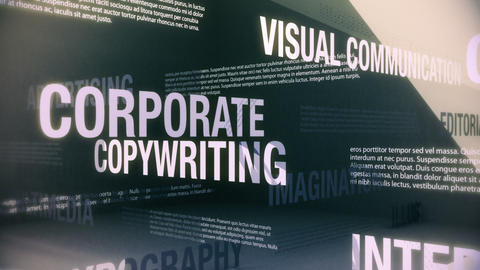 Graphic Design Related Services Seamless Loop Stock Video Footage