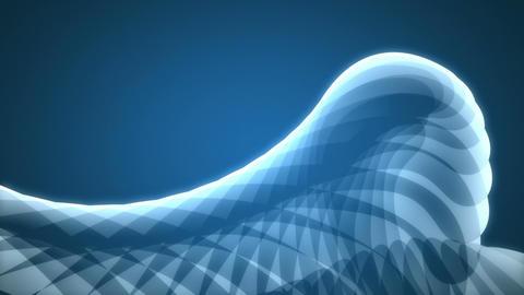 Galore - Cartoon-like Ocean Waves Video Background Loop Stock Video Footage