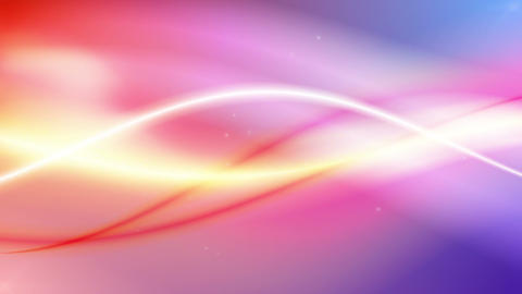 Sinecraft - Colorful Sine Waves Video Background Loop Stock Video Footage