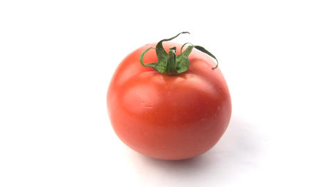 Rotation tomatoes Stock Video Footage