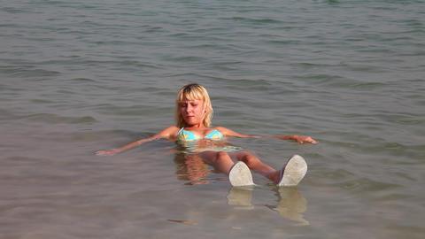 Dead Sea. Of Israel Footage