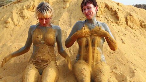 Mud treatment Stock Video Footage