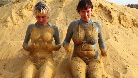 Mud treatment Footage