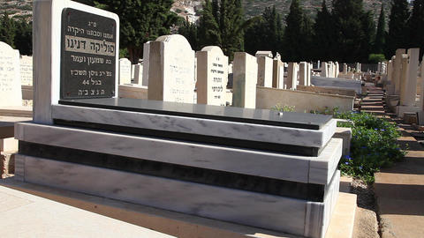 Jewish Cemetery Stock Video Footage