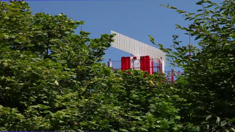 Radar station Stock Video Footage