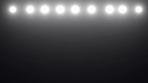 Floodlights flashing Stock Video Footage