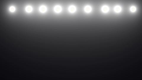 Floodlights flashing Stock Video Footage