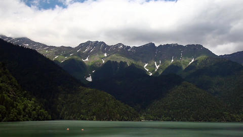 time Lapse, Mountains, sky Stock Video Footage
