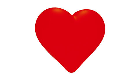 Pierced heart Stock Video Footage