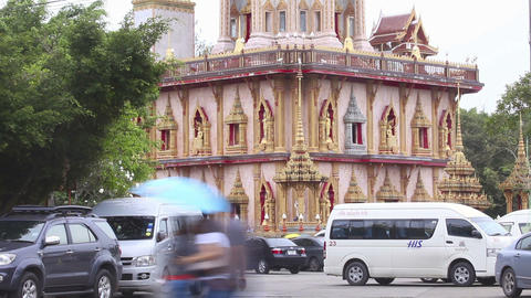 Buddhist temple Stock Video Footage