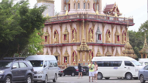 Buddhist temple Footage