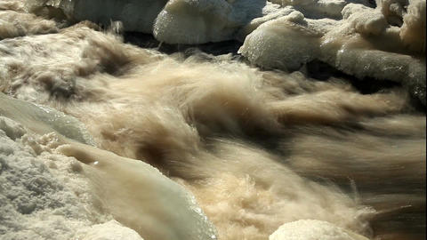 ND filter water stream 5 Stock Video Footage