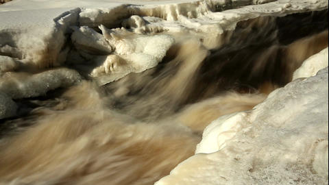 ND filter water stream 7 Stock Video Footage