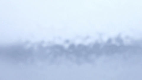 水が流れるブルー Stock Video Footage