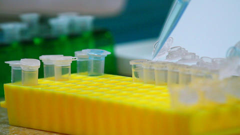 Science Laboratory stock footage