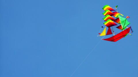 kite in sky Footage